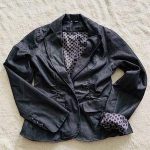 Maurice's size small navy blue lightweight blazer